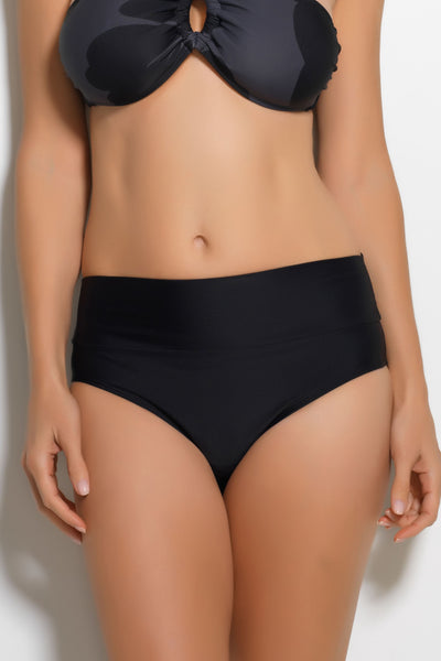 Tummy Tuck Bathing Suit Bottom Black