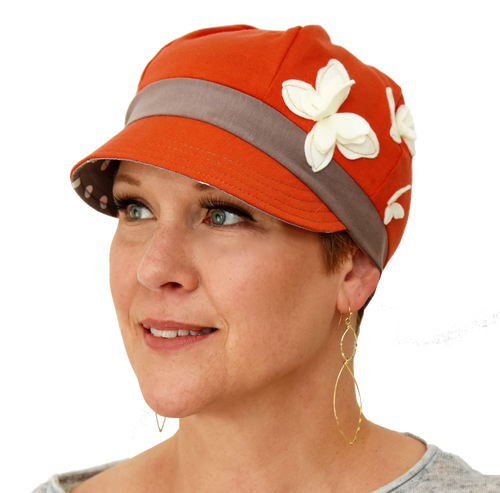 Comfortable Stylish Full Coverage Hat for Chemo Therapy and Hair Loss