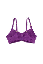 Sophia Wireless Mastectomy Bra 'Violet'