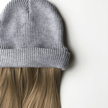 Stylish Soft Cashmere Beanie with Attached Hair Halo Wig Dear Martha