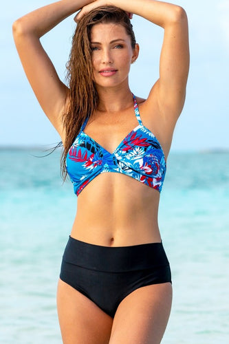 Seaside Twist Pocketed Bikini