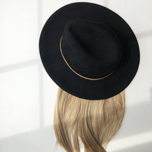 Knit Fedora with Partial Wig - Gorgeous You