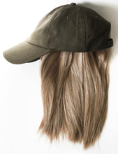 Cap with Attached Halo Wig Hair Piece From Dear Martha