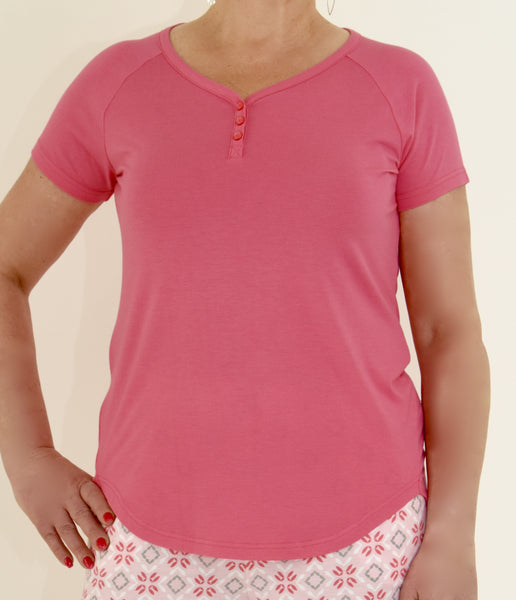 Moisture Wicking Pajama T-Shirt