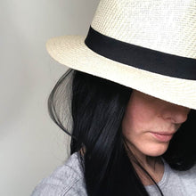 Panama Hat with Partial Wig - Gorgeous You