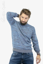 Chandail Bleu Fellows United (Fell-921104) Homme