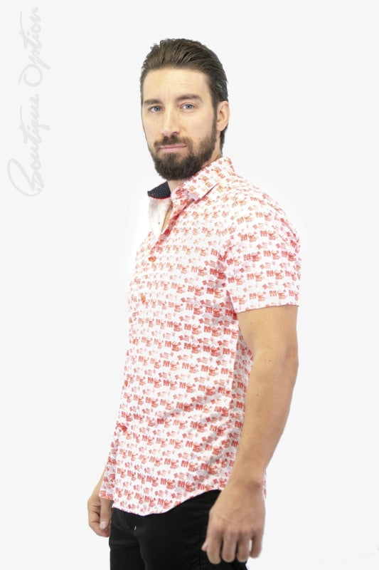 Chemise Rouge (Blac-S9Bis4000) Homme