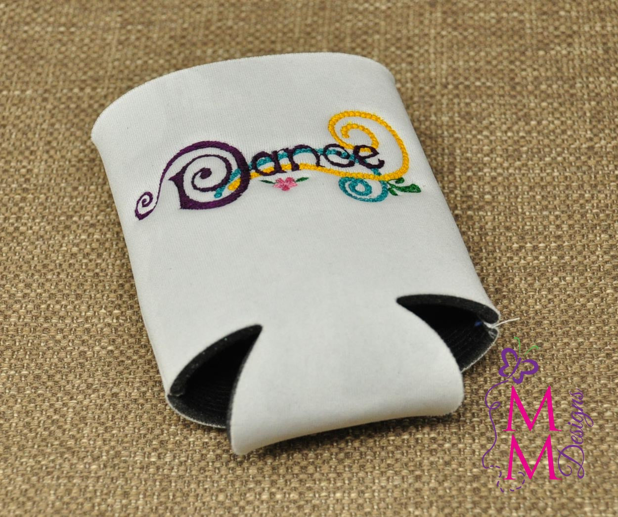 Embroidered Dance and Cheer Koozies
