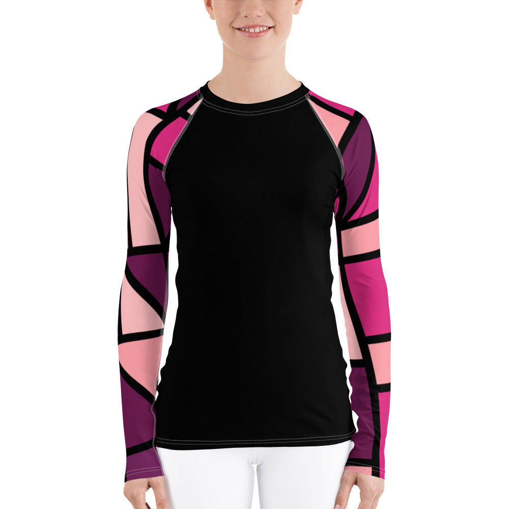 Ladies rash guard by Pynk Haus