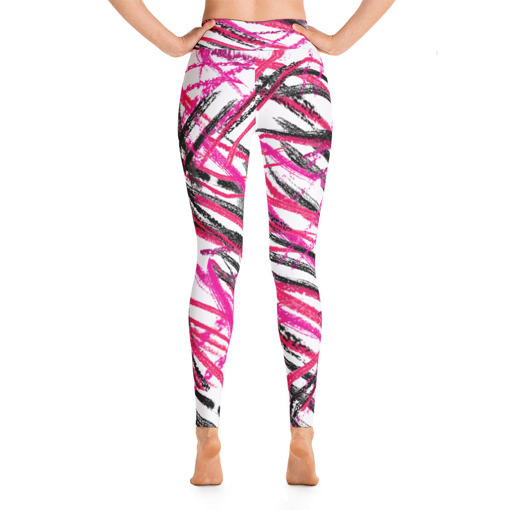 Pink yoga leggings by Pynk Haus