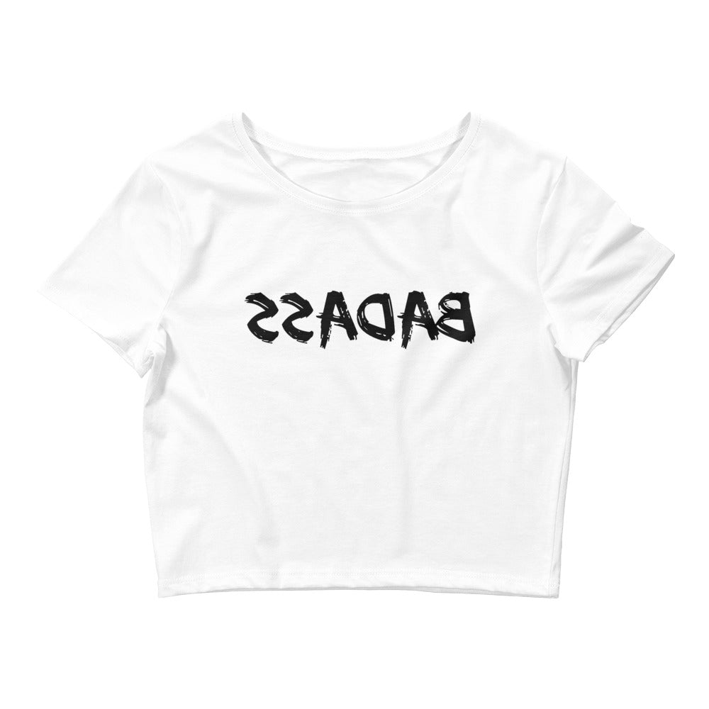 Badass Crop Tee (Black)