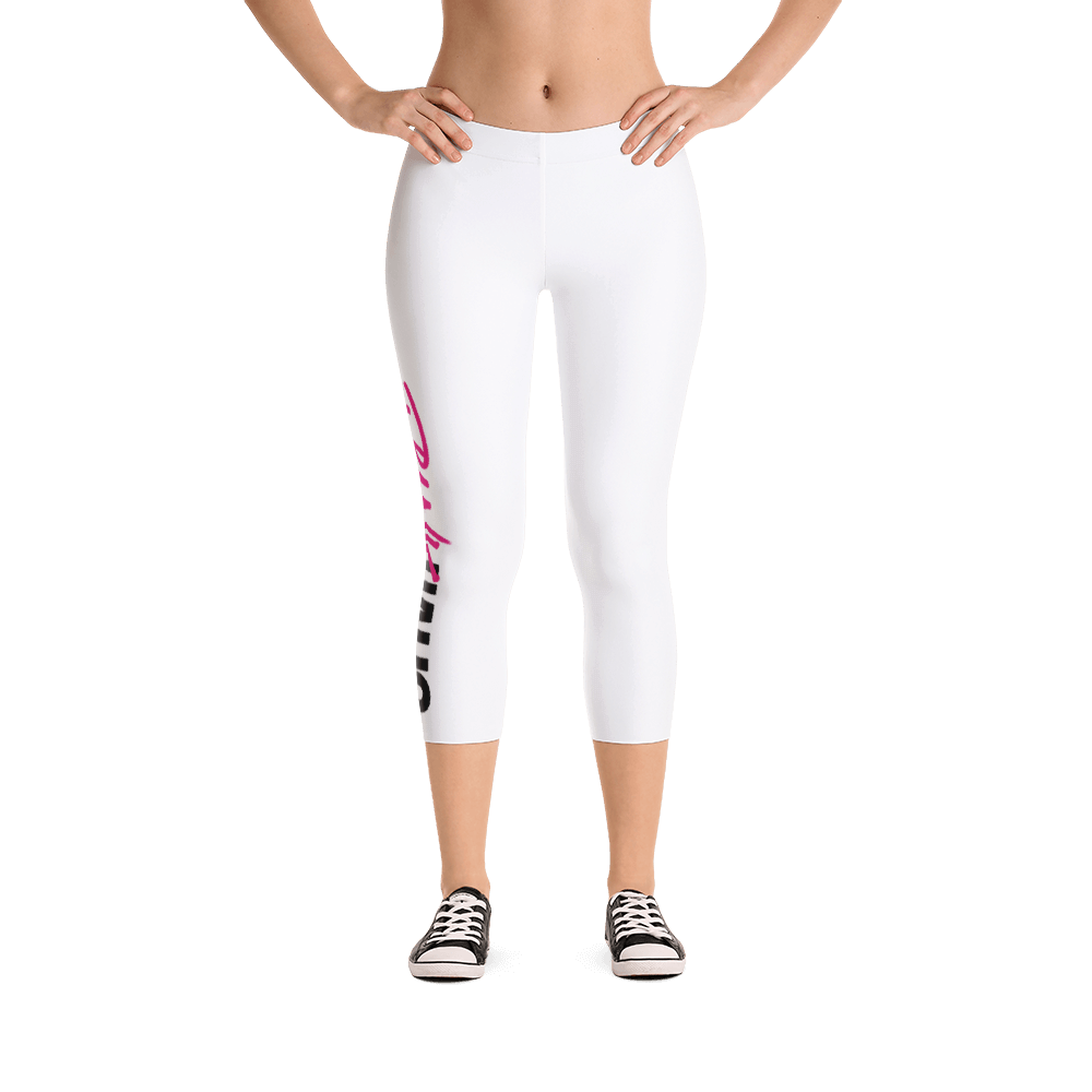 Fitness leggings by Pynk Haus in white