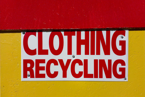 Clothes Recycling Material recovery