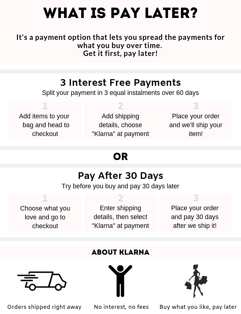 Yala Jewellery Klarna Payment Option