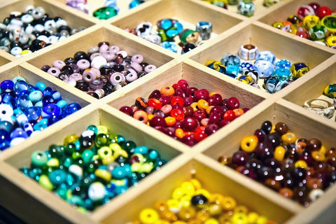 Yala Jewellery Modern African Ethical Recycled Reused Materials Glass Seed Beads