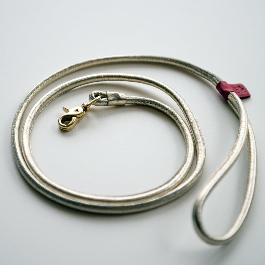 Comfort Is Golden Luxury Leash