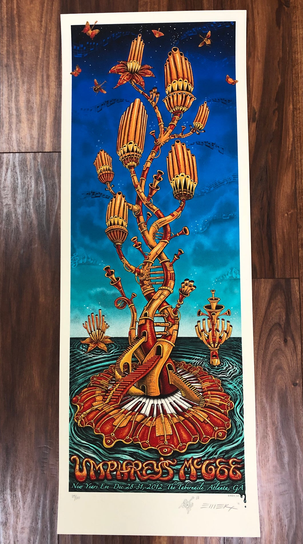 Umphrey's McGee Atlanta by EMEK - AP Edition