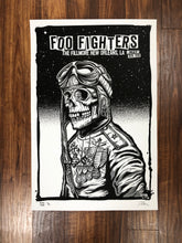 Foo Fighters New Orleans N2 2019 by Zoltron - Black Plate Variant