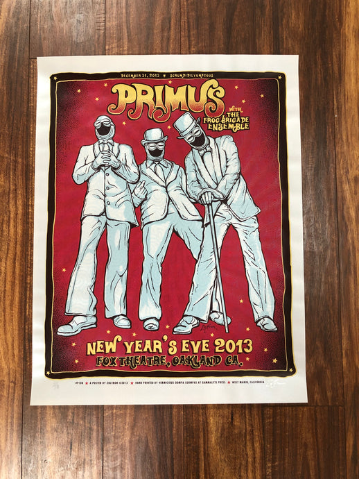 Primus Oakland 2013 By Zoltron - Transparent Translucent Variant