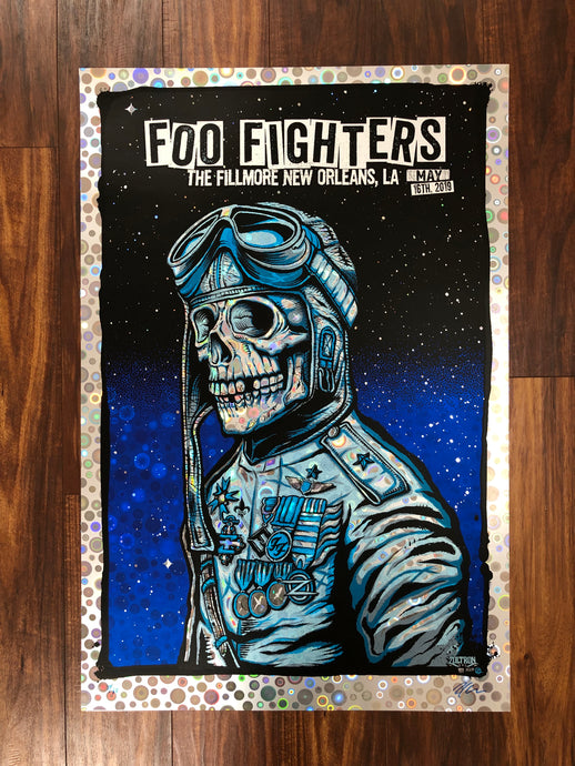 Foo Fighters New Orleans Night 2 2019 By Zoltron - Gobstopper Variant