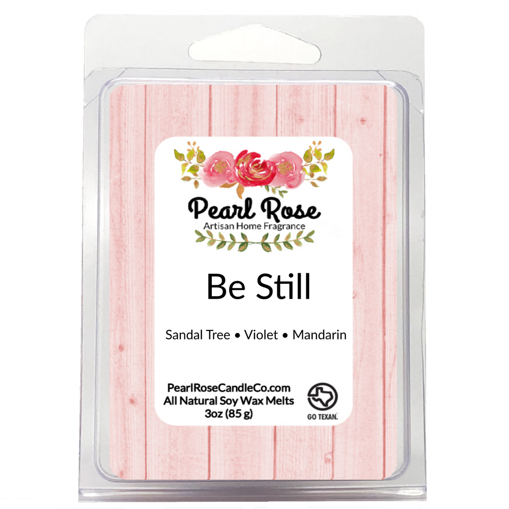 Be Still - Soy Wax Melt - Pearl Rose Candle Co