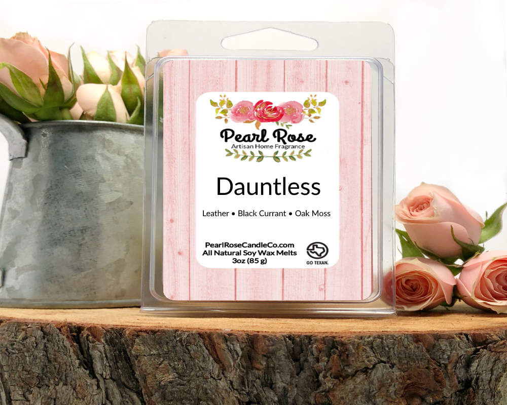 Dauntless- Soy Wax Melt - Pearl Rose Candle Co