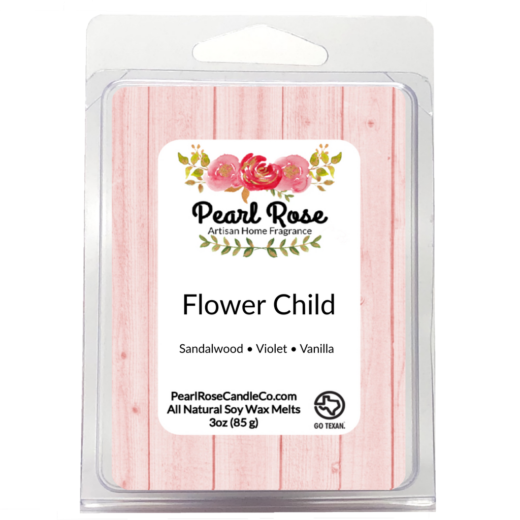 Flower Child - Soy Wax Melt - Pearl Rose Candle Co