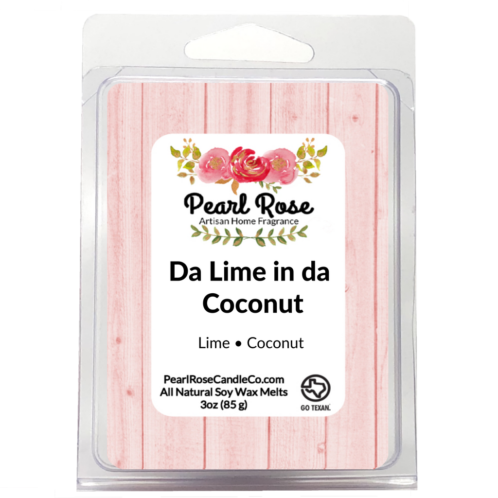 Da Lime in da Coconut  - Soy Wax Melt