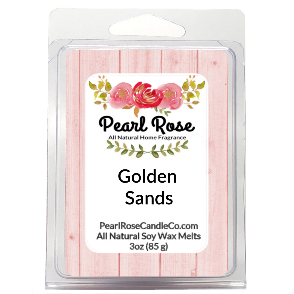 Golden Sands- Soy Wax Melts - Pearl Rose Candle Co