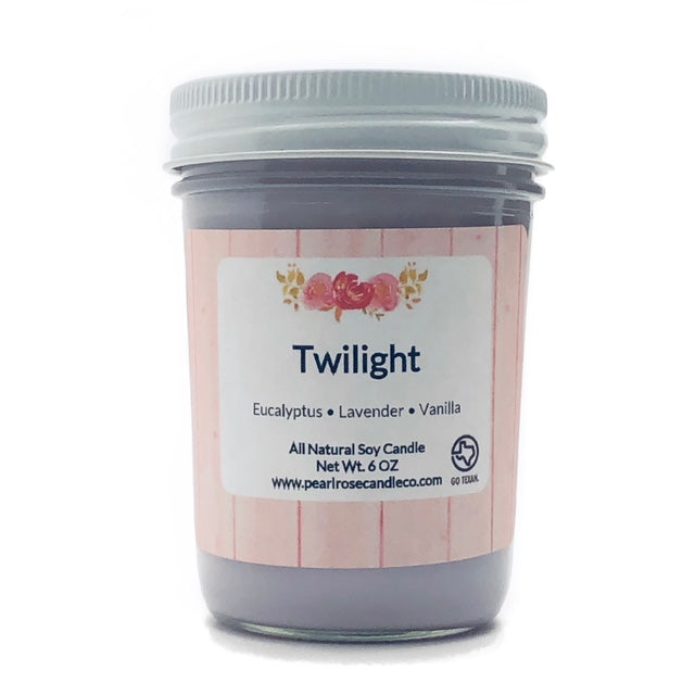 Twilight  - Soy Candle - Pearl Rose Candle Co