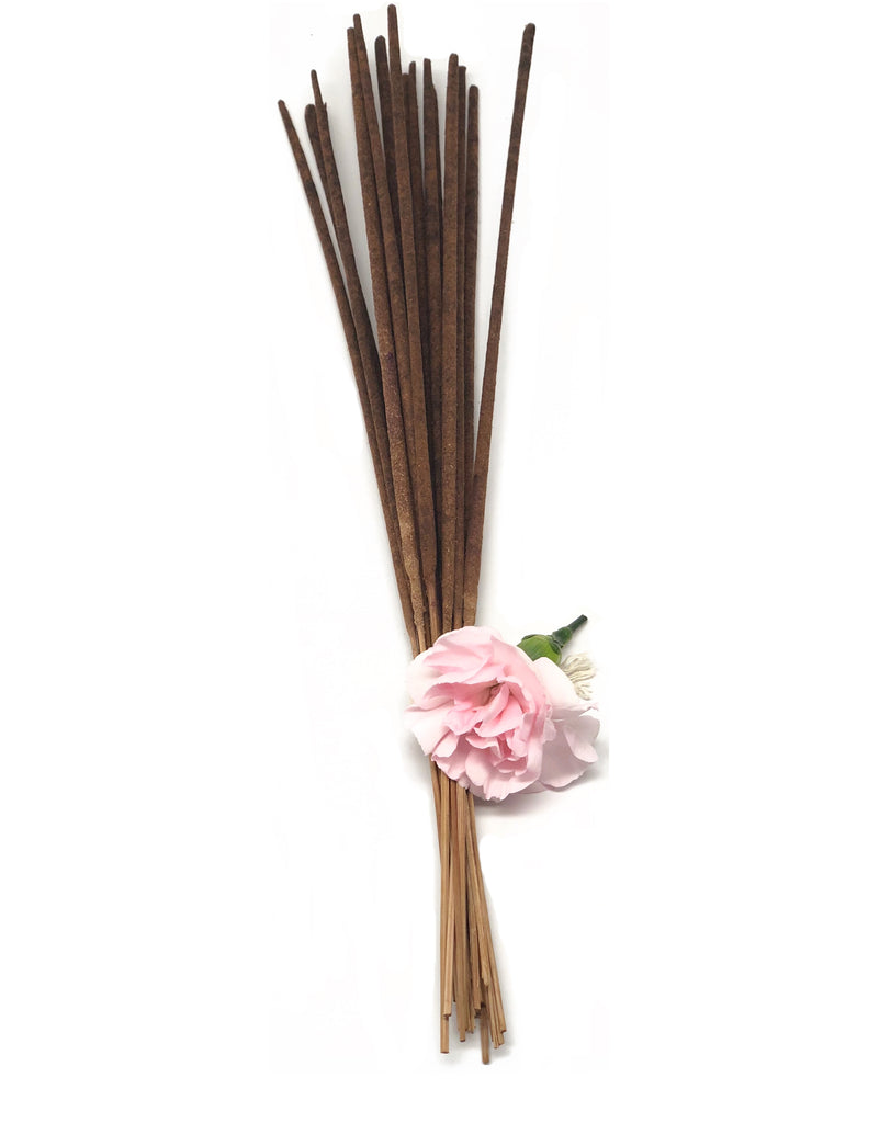 Sandalwood Vanilla -Dipped Incense - Pearl Rose Candle Co
