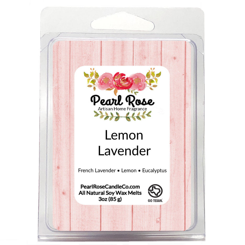 Lemon Lavender - Soy Wax Melt - Pearl Rose Candle Co