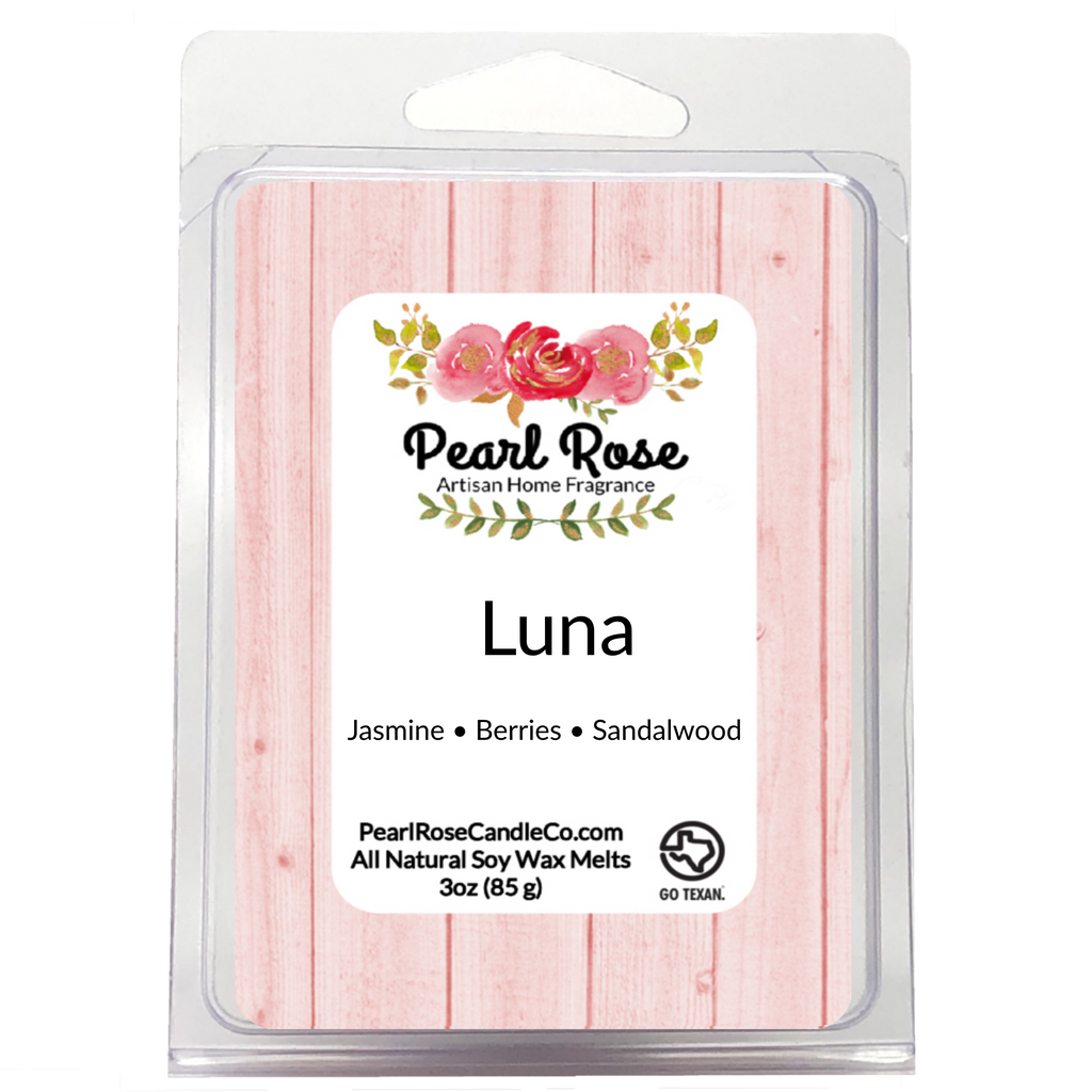 Luna - Soy Wax Melt - Pearl Rose Candle Co