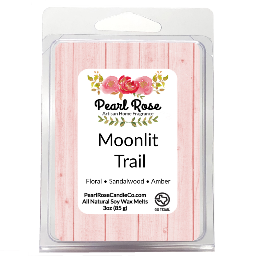 Moonlit Trail- Soy Wax Melt - Pearl Rose Candle Co