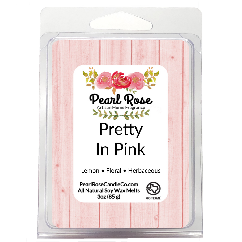 Pretty In Pink- Soy Wax Melt - Pearl Rose Candle Co