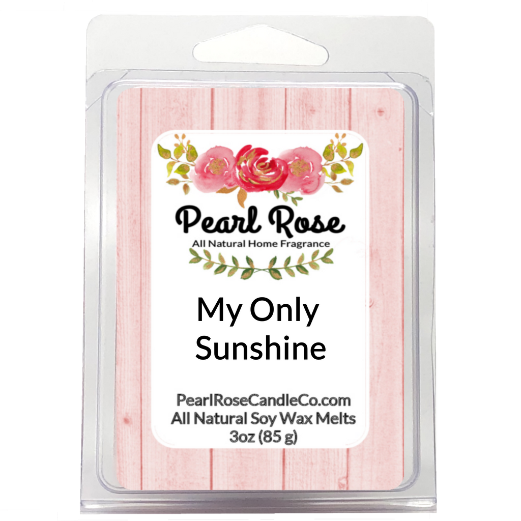 My Only Sunshine - Soy Wax Melt - Pearl Rose Candle Co