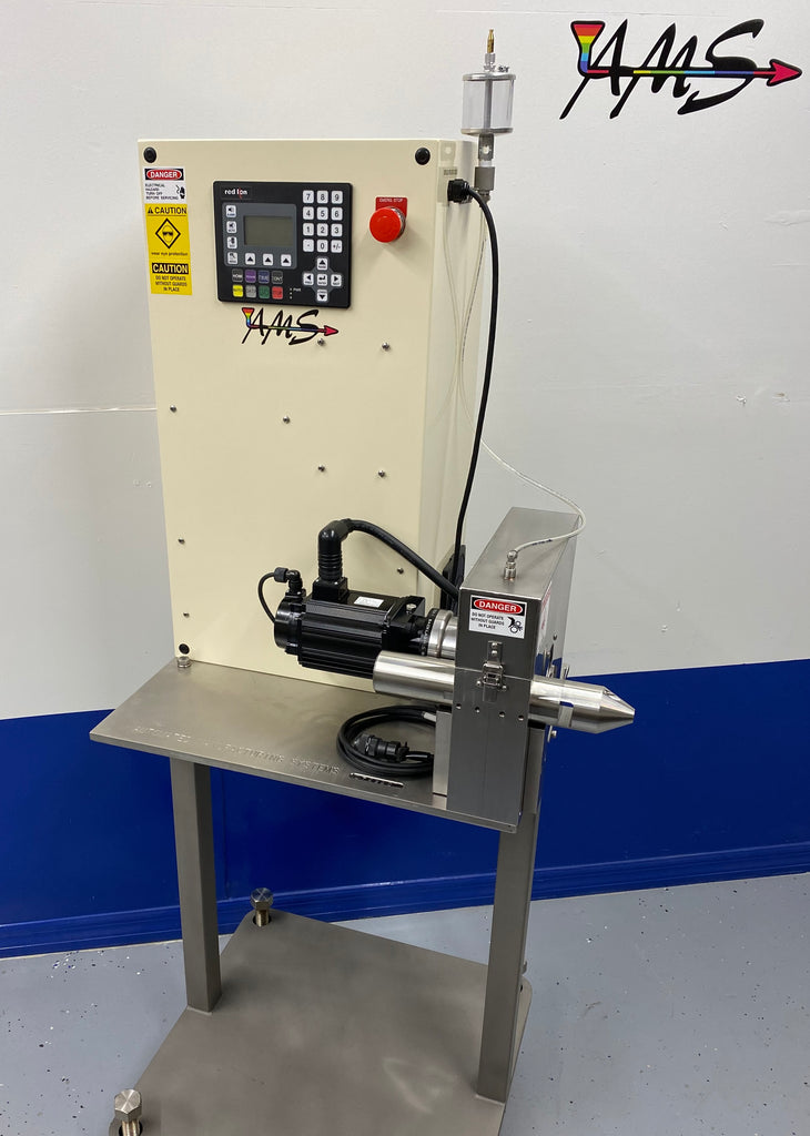 Check out this New Stainless Steel Servo Cutter for Medical extrusion!