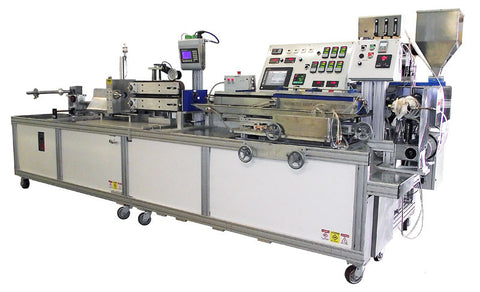 AMS Fluoropolymer Medical Extrusion Line
