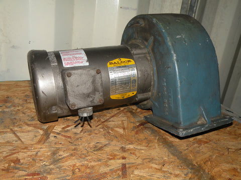 Baldor DC Blower Motor-Spec 34A63-283, Volts-208-230/460V, RPM 3450, Phase 3