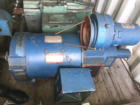 Kinamatic General Electric DC Motor, 30 HP, 240V, Model#: 5C0174WA032002