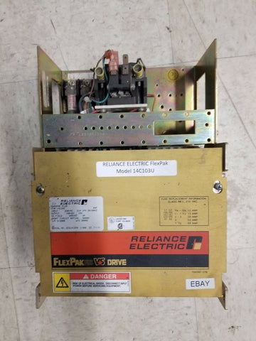 Reliance Electric FlexPak Plus VS Drive, 14C103, HP3, Single Phase