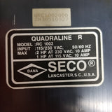 Seco Quadraline R Motor Control, Model: RC 1002, 2HP, SN: 30510027