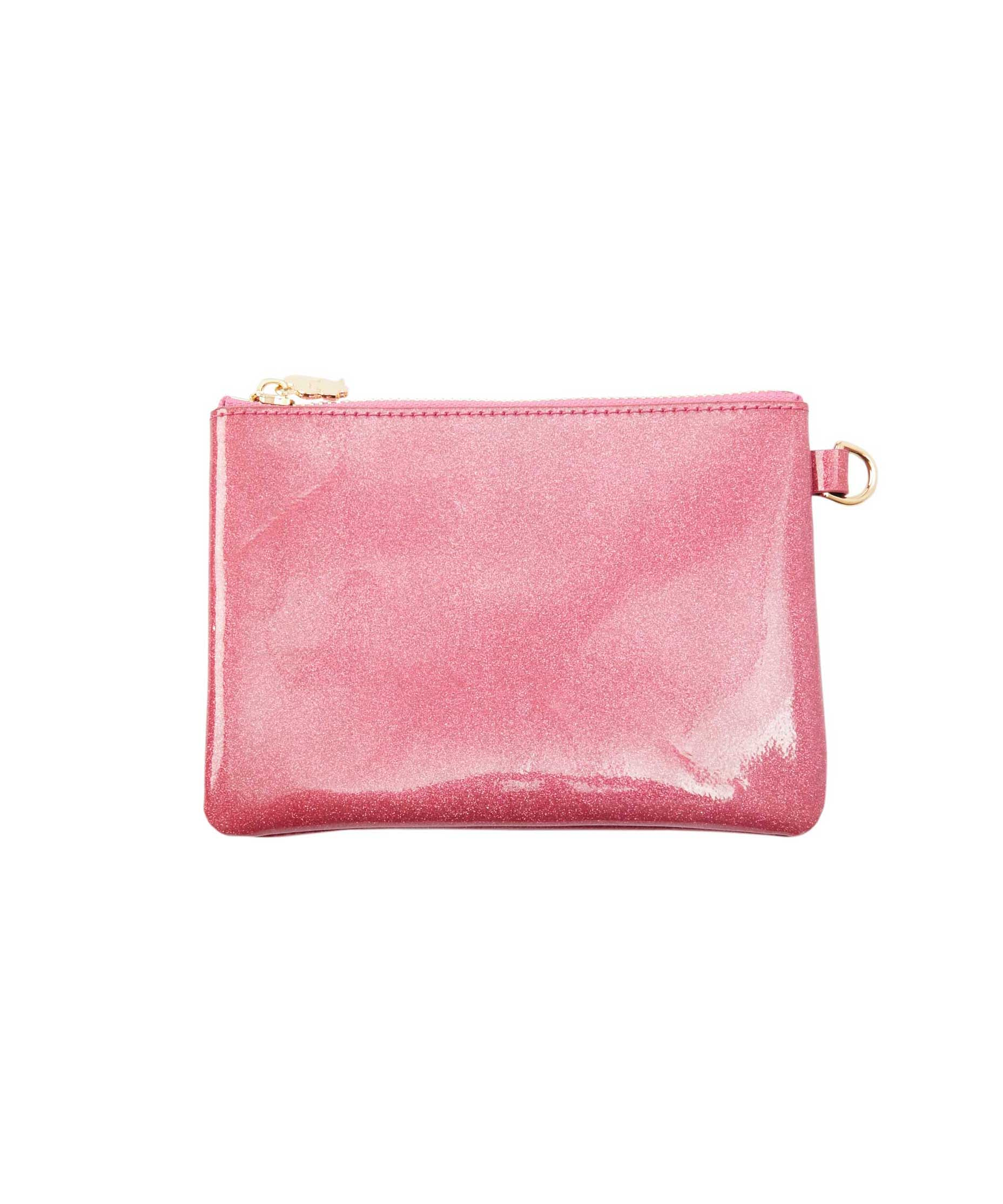 Pink Glitter Small Pouch