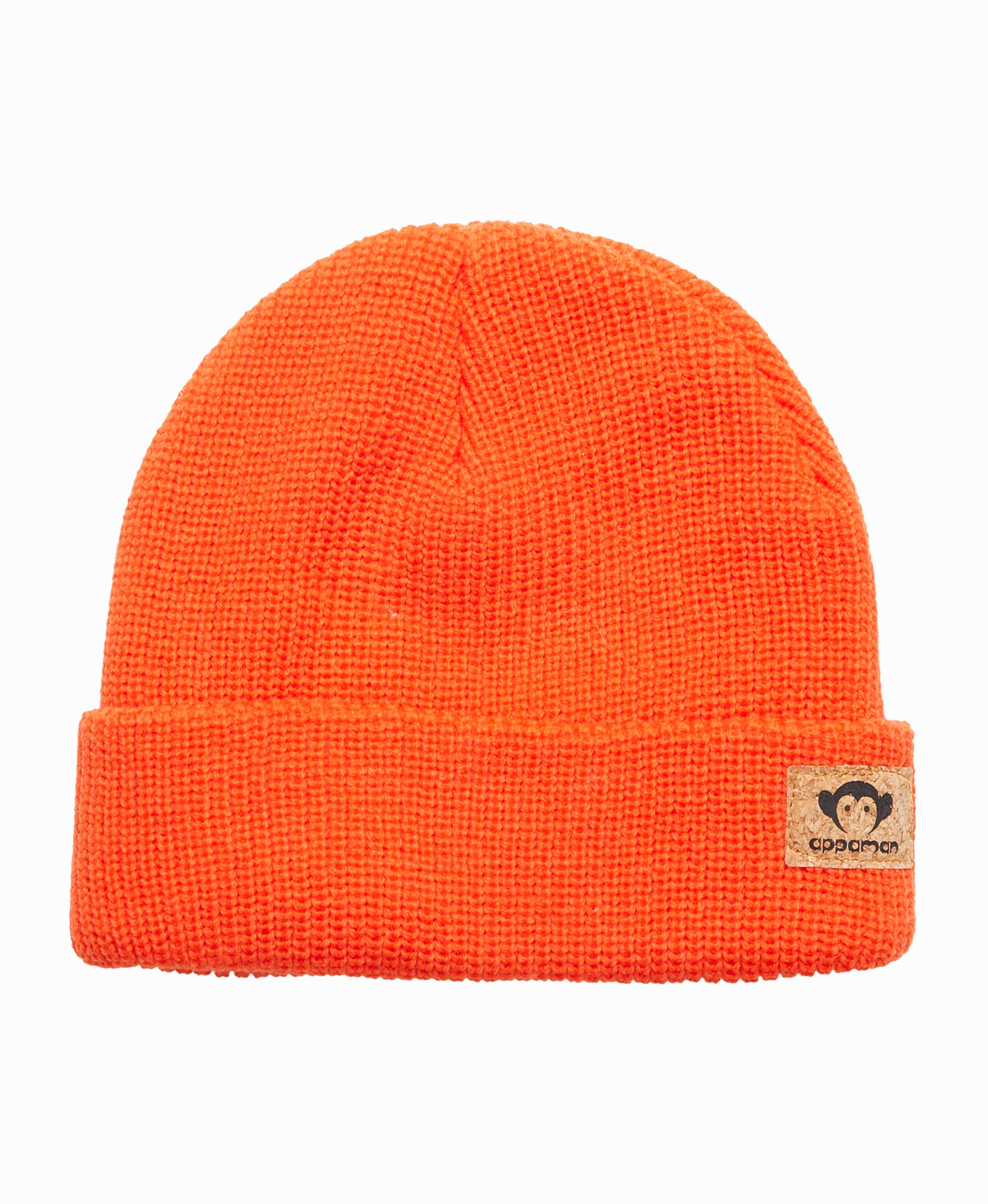 Haze Orange Knit Hat