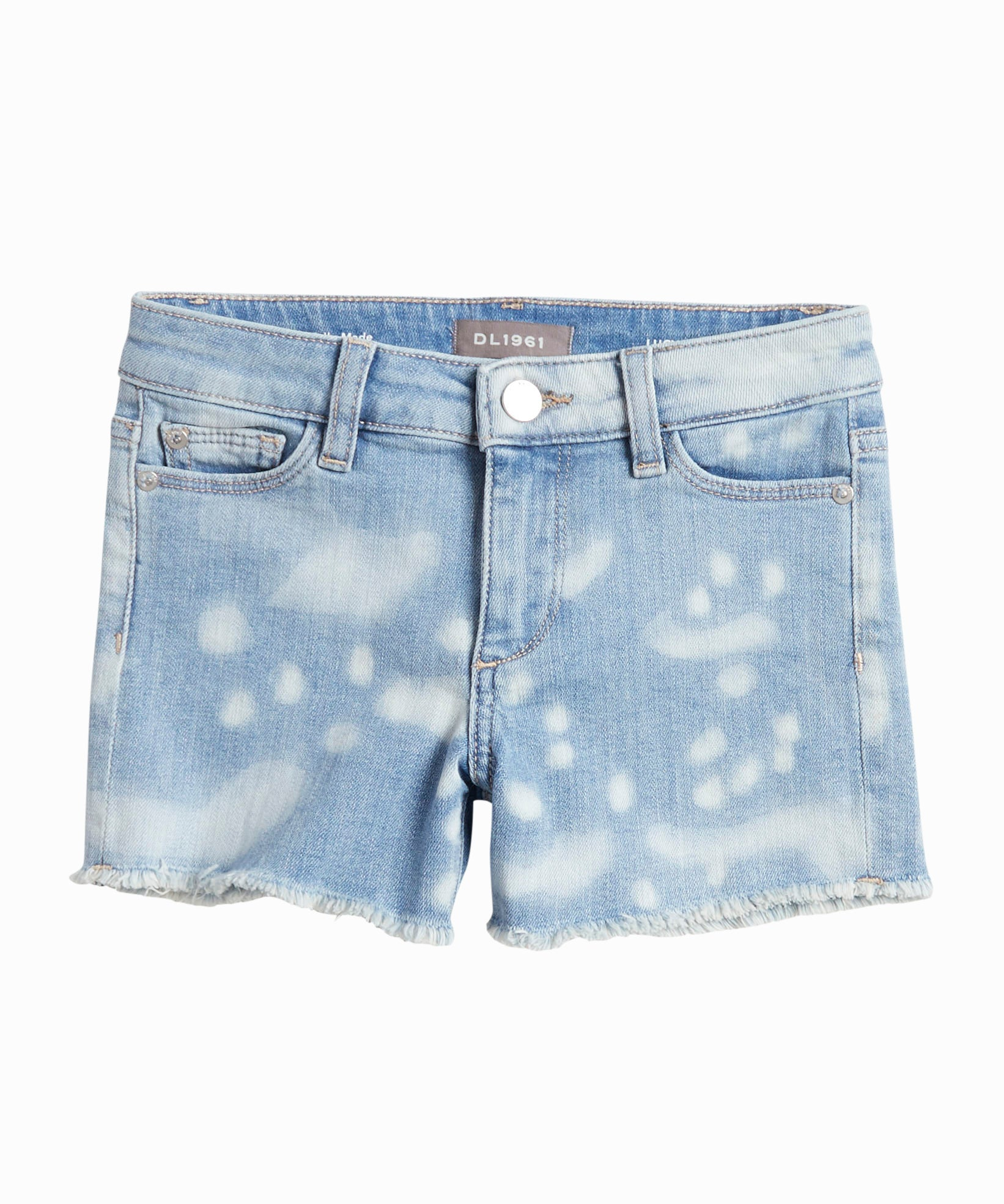Lucy Bleached Denim Shorts