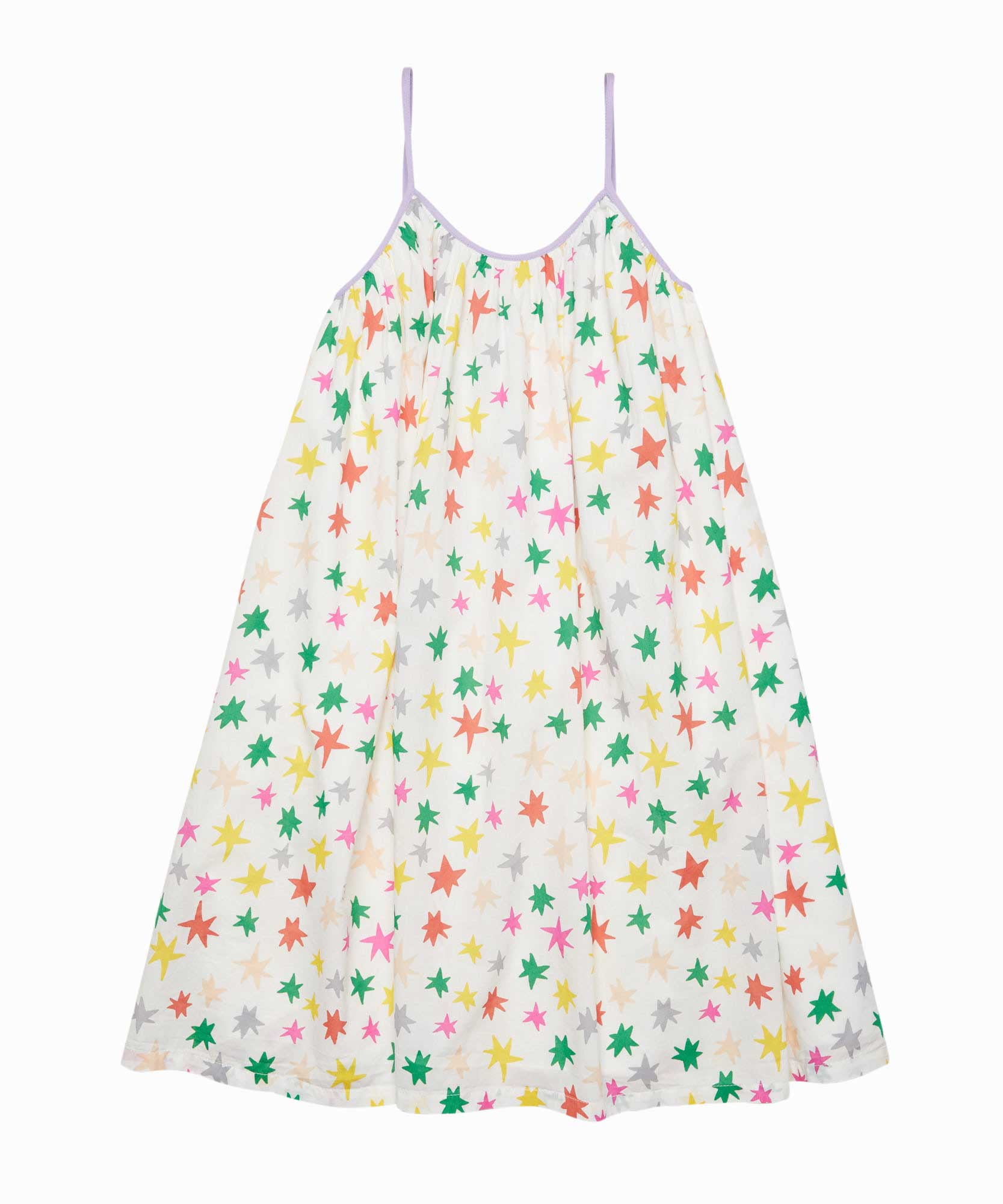 Multicolor Stars Dress