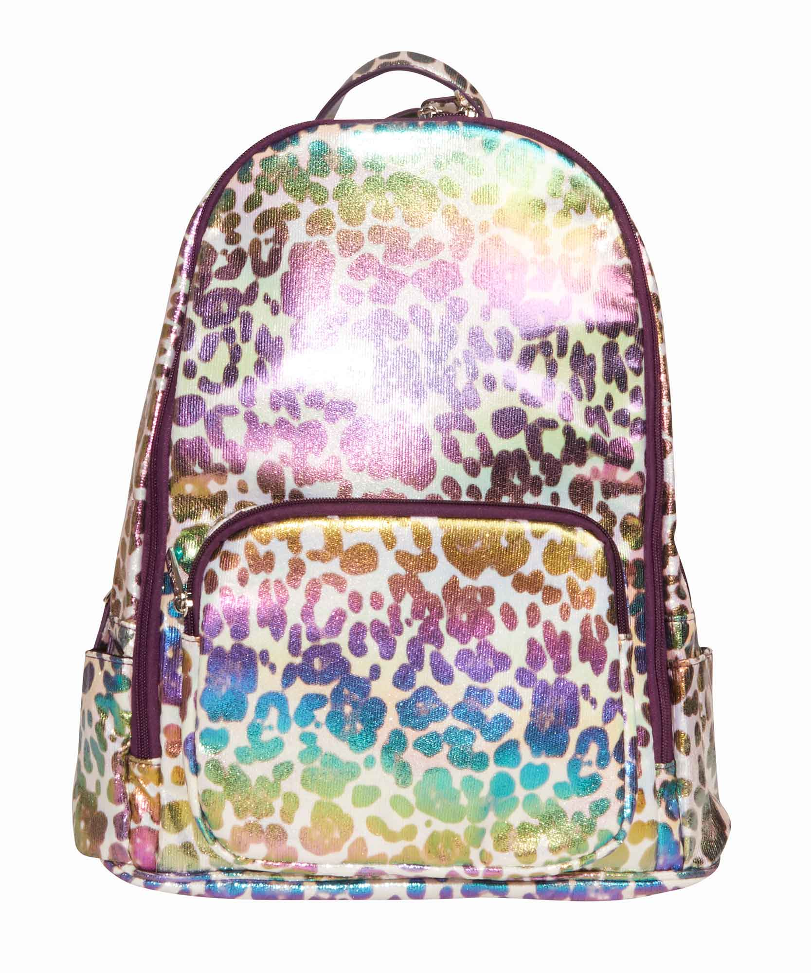 White Leopard Backpack