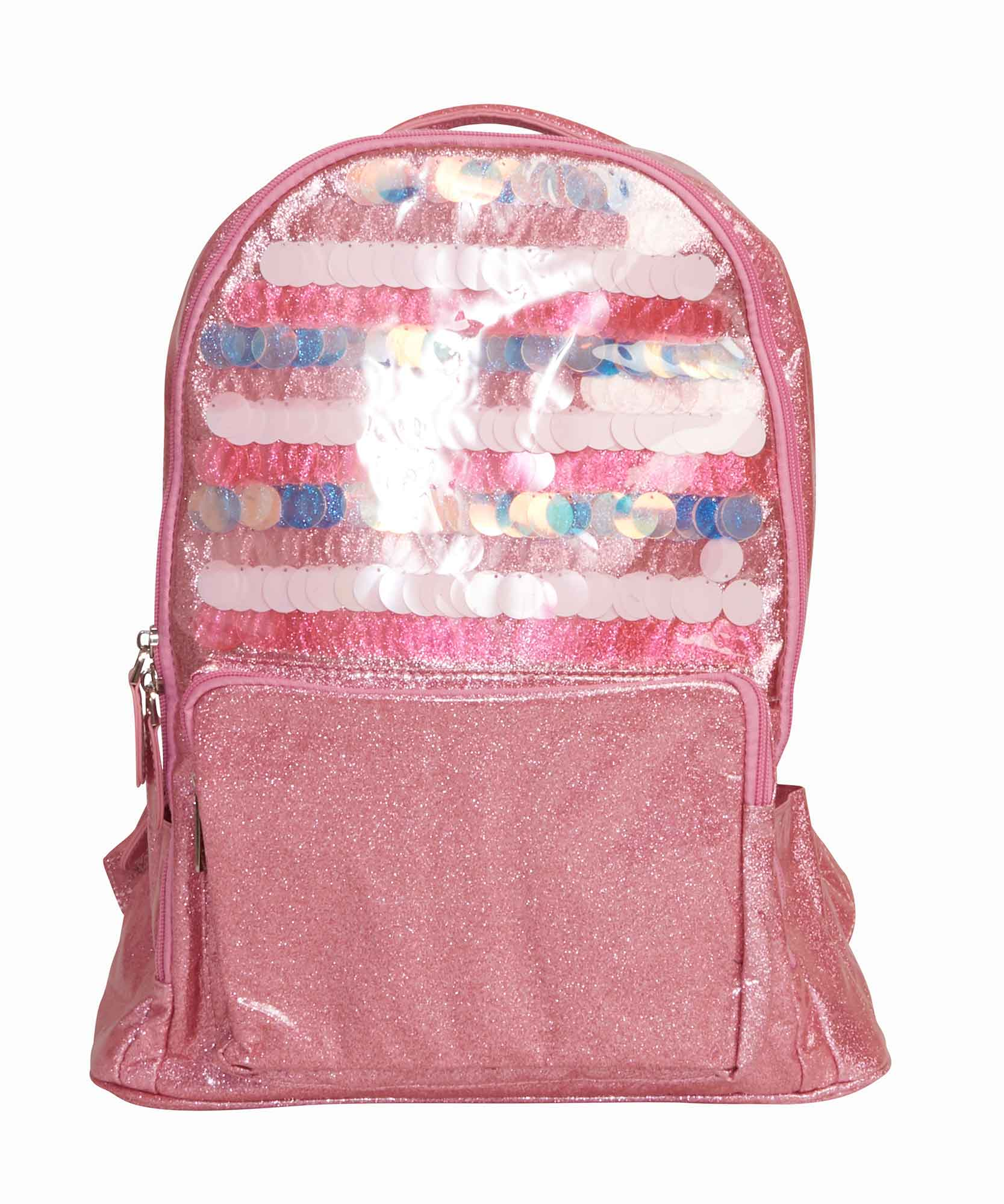 Paillette Pink Backpack