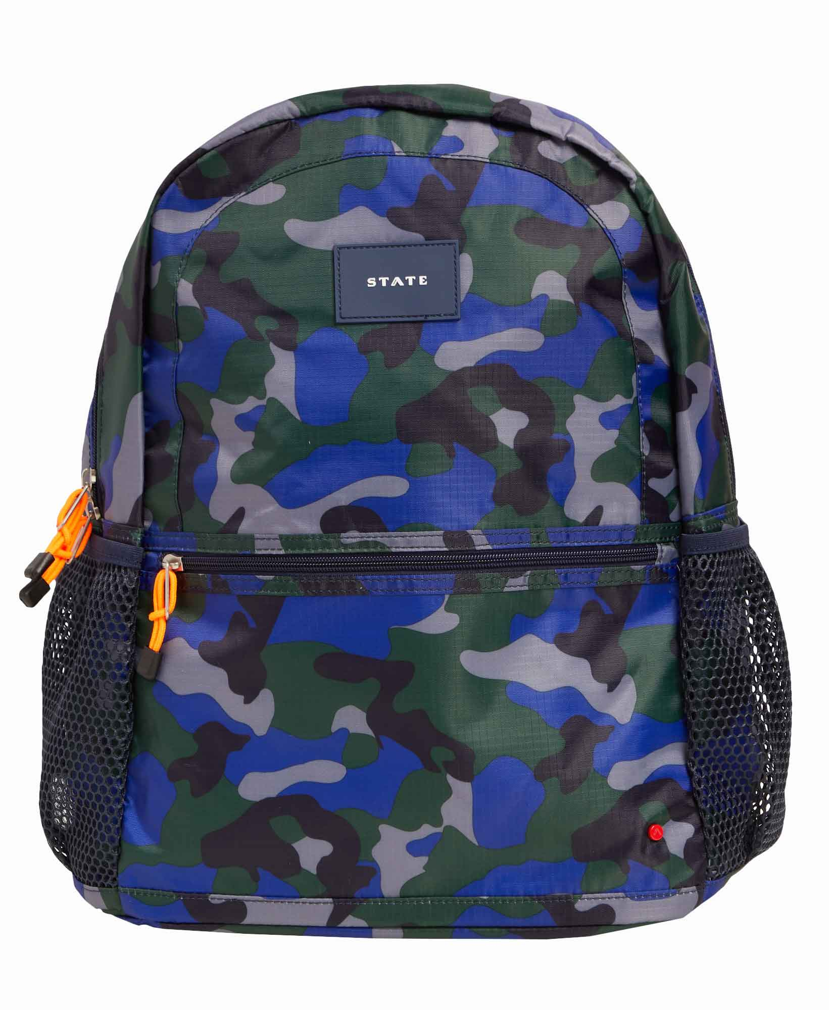 State Kane Double Pocket Camo Backpack