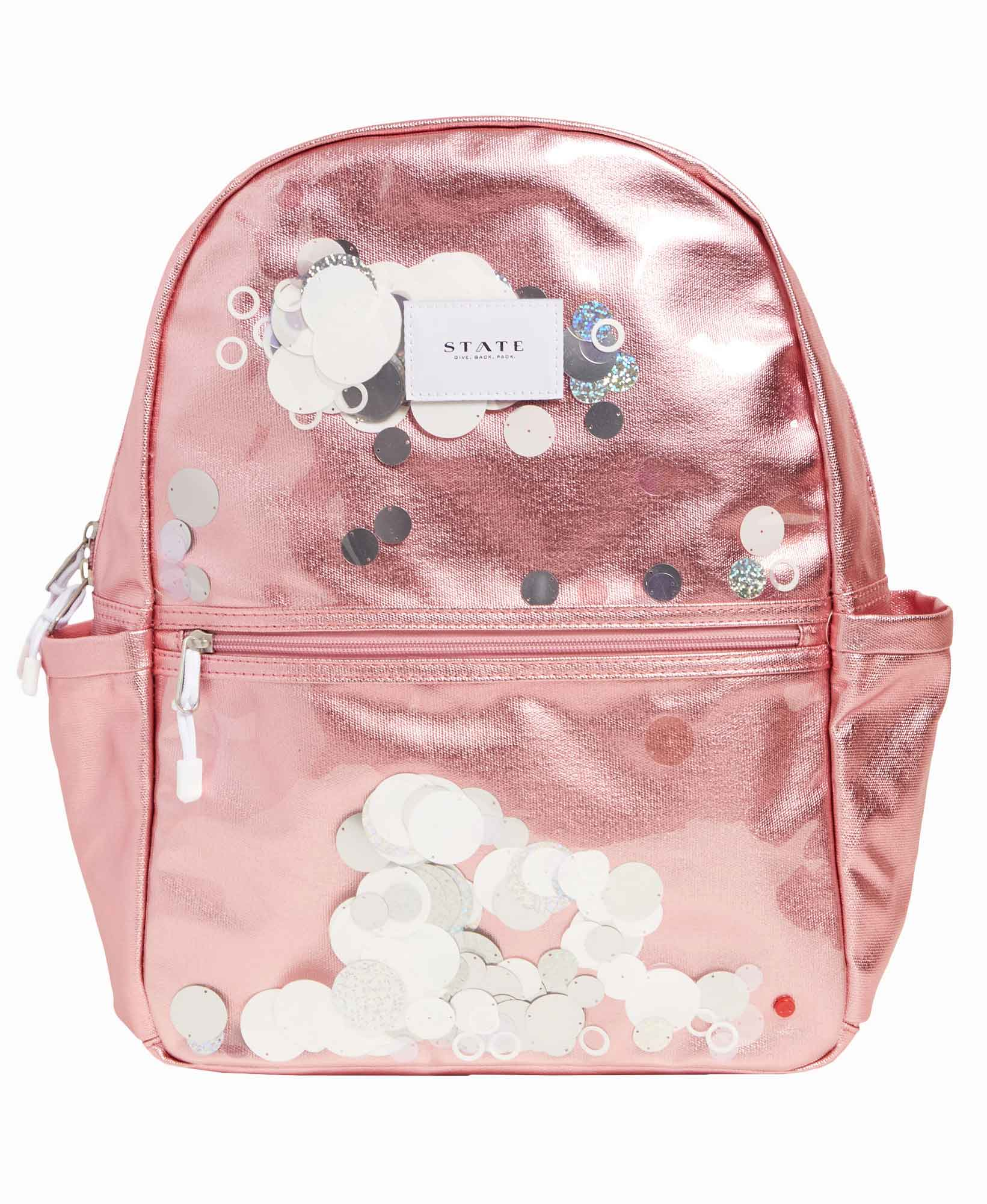 State Kane Metallic Sequins Backpack